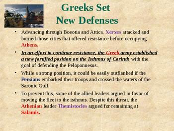 Ancient Civilizations - The Greco-Persian Wars - Battle of Salamis