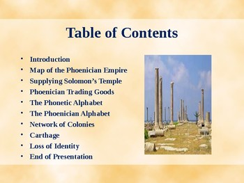 Ancient Civilizations - The Phoenician Empire