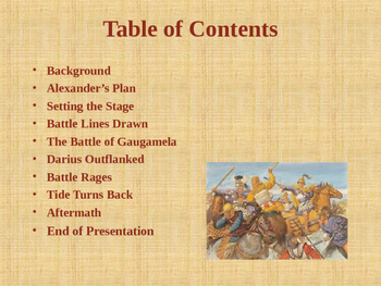 Ancient Civilizations - The Wars of Alexander the Great - Battle of Gaugamela