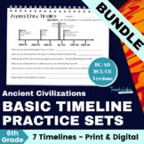 Ancient Civilizations: Timeline Bundle