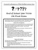Ancient Civilizations Trivia and Final Exam