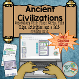 Ancient Civilizations Vocabulary For Google Classroom and