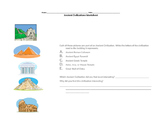 Ancient Civilizations Worksheet
