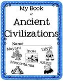 Ancient Civilizations for Kids {Mesopotamia, Egypt, Mayans