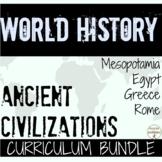 Ancient Civilizations in Europe Curriculum BUNDLE