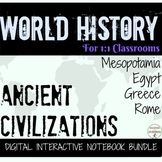 Ancient Civilizations in Europe DIGITAL Interactive Notebo