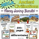 Ancient Civilizations BUNDLE Greece, Rome, China and Egypt