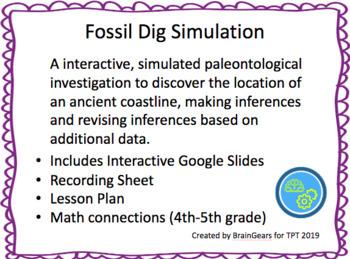 Ancient Coastline Fossil Dig Simulation