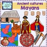 Ancient Cultures - Mayans Clip Art {Social Studies clipart}