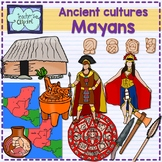 Ancient Cultures - Mayans Clip Art {Social Studies clipart}