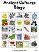 Ancient Cultures Review Bingo Game