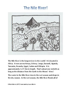 Ancient Egypt!  An interactive unit, including coloring sheets