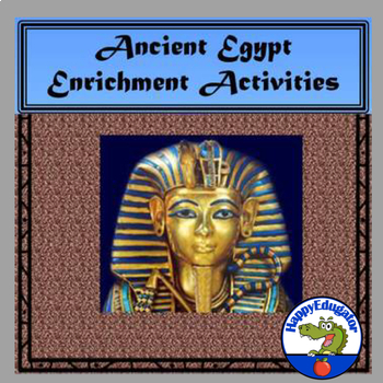 Ancient Egypt Enrichment Activities