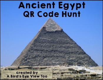 Ancient Egypt Research and History Using QR Codes