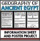 Ancient Egypt Unit - Geography - Questions, Information, Project