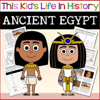 Ancient Egypt Crossword Teaching Resources Teachers Pay Teachers