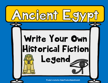 Ancient Egypt Writing - Create Your Own Egyptian Legend -
