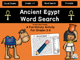 Ancient Civilizations - Ancient Egypt Word Search