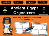Ancient Civilizations - Ancient Egypt Organizers