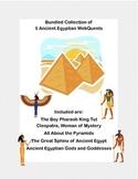 Ancient Egypt Bundle- 5 WebQuest Collection