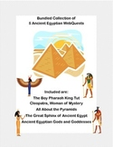 Ancient Egypt Bundle- 5 WebQuest Collection