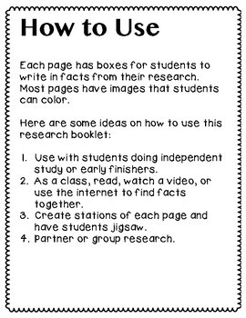 Ancient Egypt- A Research/Inquiry Packet