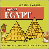 Ancient Egypt - A Fun Unit Study and Project