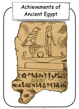 what are some egyptian achievements