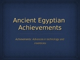 Ancient Egypt Achievements and Inventions