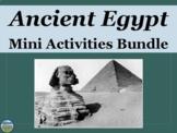 Ancient Egypt Activities Bundle
