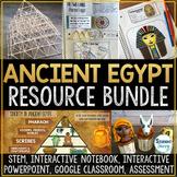 Ancient Egypt Activities Resource Bundle   Egypt Unit Lesson