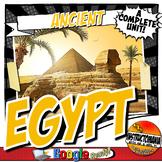 Ancient Egypt Unit Plan Lesson & Activity Bundle History Common Core Grades 5-8