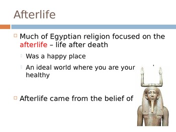 Ancient Egypt Afterlife, Mummies, Burial Practices