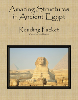 Ancient Egypt Amazing Structures Reading Packet