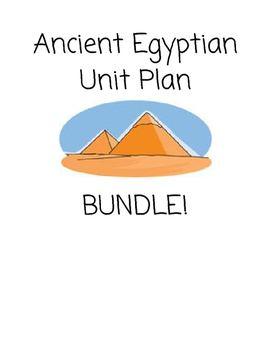 Ancient Egypt BUNDLE!