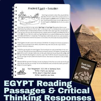 Ancient Egypt Basic Reading Passages