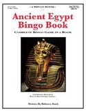 Ancient Egypt Bingo Book