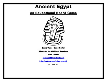 Ancient Egypt Board Game