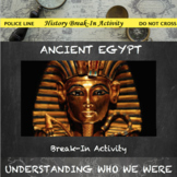 Ancient Egypt Digital Break Out DBQ Activity