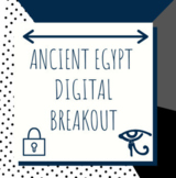 Distance Learning: Ancient Egypt Digital Breakout / Escape Room