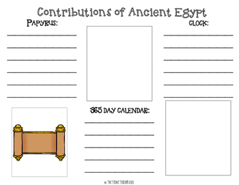 Ancient Egypt Brochure