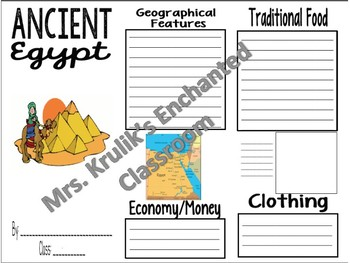 Ancient Egypt Brochure / Trifold