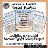 Ancient Egypt Building a Pyramid Assignment Project - Egyptians