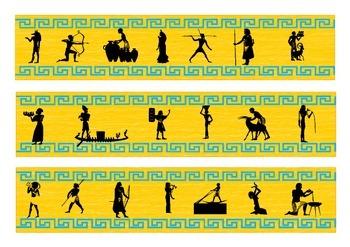 Ancient Egypt Bulletin Board Border
