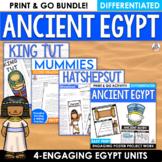 Ancient Egypt Activities Close Reading Informational Text Bundle