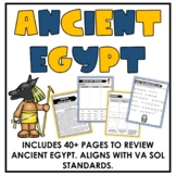 Ancient Egypt Unit Activities