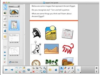 Ancient Egypt Bundle: Student Booklet, Vocab Flashcards, and Notebook File