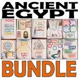 Ancient Egypt Bundle: Overview, 10 Famous Pharaohs, Pyramids & Mummies