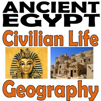 Ancient Egypt BUNDLE : 10 Famous Pharaohs, Pyramids & Mummies & More!