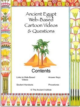 Ancient Egypt Cartoon Videos & Student Questions